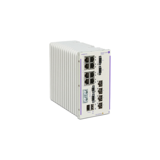 Alcatel-Lucent Enterprise OmniSwitch 6465 Compact hardened ethernet switch OS6465-P12