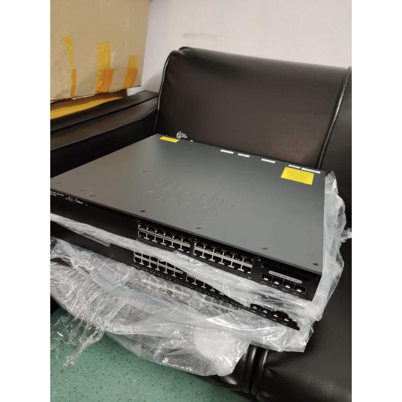 Hot Sale Cisco Poe Switch 24 Ports WS-C2960XR-24PS-I Gigabit Ethernet PoE Switch