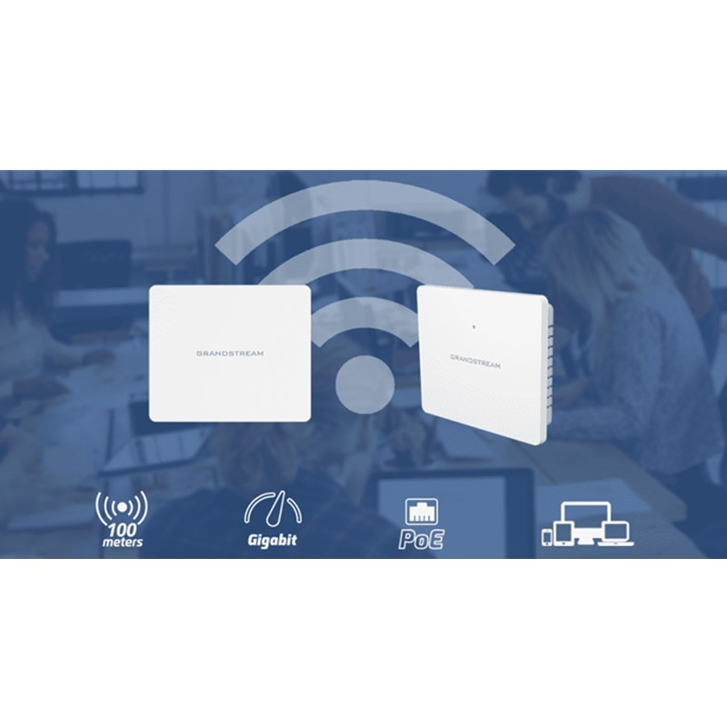 Grandstream GWN7602 Wi-Fi AP with Integrated Ethernet Switch