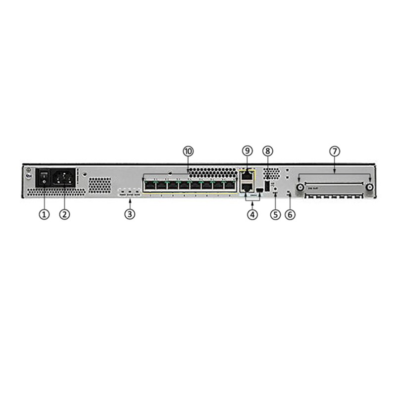 New Original Cisco ASA5508-K9 ASA 5508-X Network Security Firewall