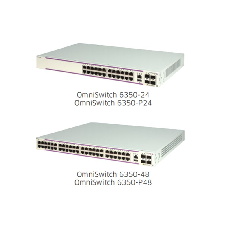 OS6350-P24 Alcatel-Lucent OmniSwitch 6350 Gigabit Ethernet LAN switch family