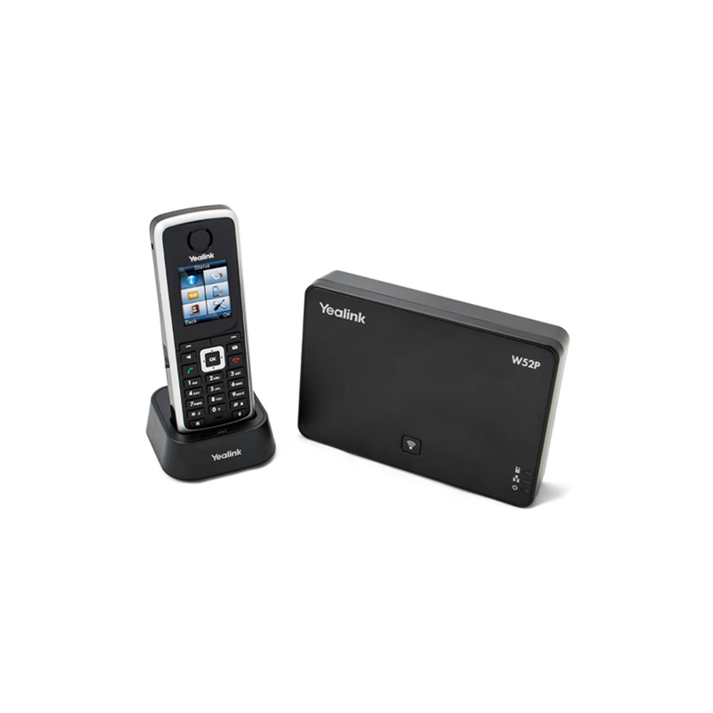 Yealink SIP Cordless Phone W52P DECT Phone for small businesses