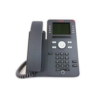 Avaya IX IP Phone J169 through secondary Gigabit Ethernet port 8 dual-color Red / Green LED buttons