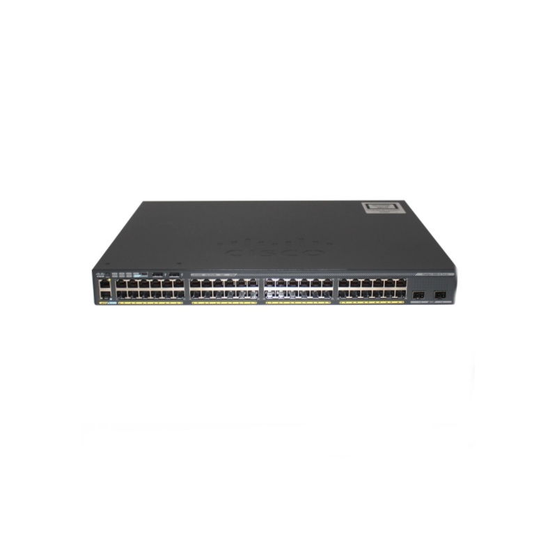 Original New Switch Cisco 2960-XR 48 GigE PoE 370W 4 X 1G SFP IP Lite WS-C2960XR-48LPS-I